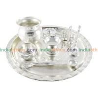 Silver Plated Kalash Pooja Thali Set | Gifts