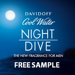 Davidoff Cool Water Night Dive Free Sample