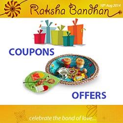 Raksha Bandhan Coupons Rakhi Offers August 2014