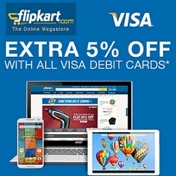 Flipkart Visa Debit Card Offer