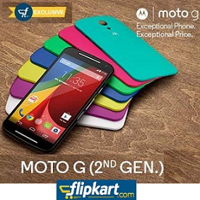 MOTO G 2nd Gen Launch Day Offers