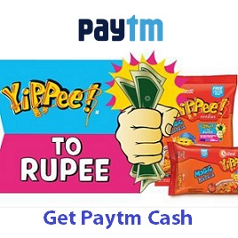 Paytm YiPPee to Rupee Offer Paytm Cash to Recharge Mobile, Buy Items