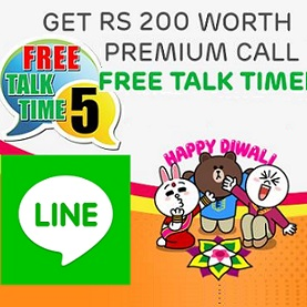 Line Premium Call Free Talk Time