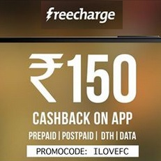 Freecharge App Cashback Offer