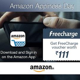Freecharge Rs 111 Cashback Promo Code