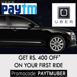 Uber Paytm Wallet Offer