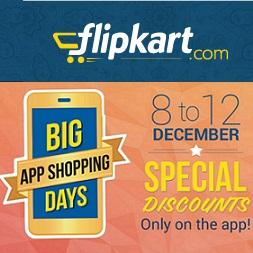 Flipkart Big App Shopping Days