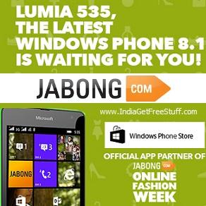 Jabong Online Fashion Week Contest