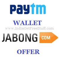 Paytm Wallet Jabong Offer
