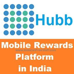 Hubb Mobile Rewards India Get Rs.20 Free Mobile Recharge Talktime