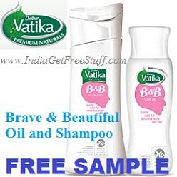 Dabur Vatika Brave and Beautiful Free Sample
