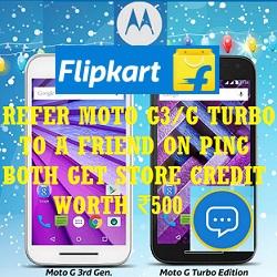 Flipkart Moto Referral Program