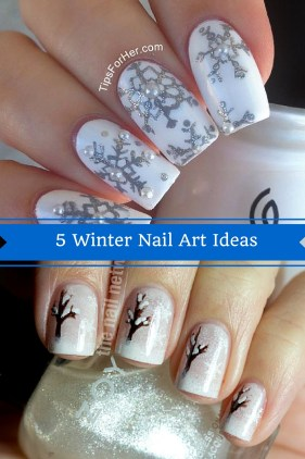 5 Winter Nail Art Ideas