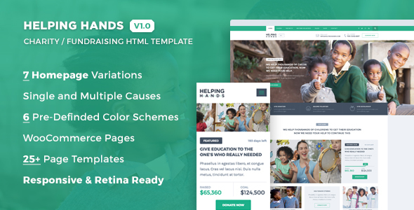 7+ Charity Foundation  Fund Raising HTML Templates - Indiamarks
