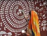 Wall painting for Durga festival - India Travel Forum ...