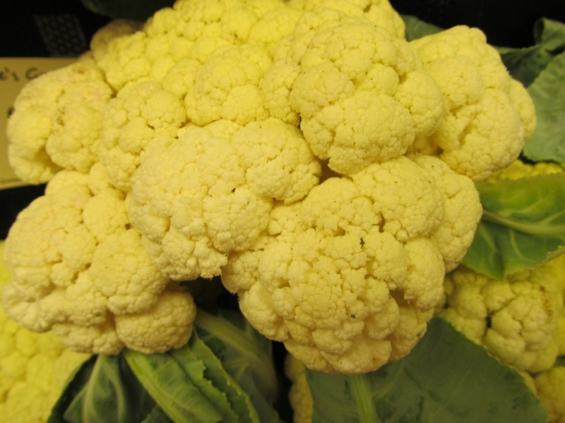 Indiana Grown Cauliflower