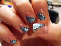 Glamour And Elegance of Glitter Nails - Indian Beauty Tips