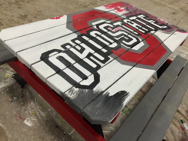 Ohio State Table in progress