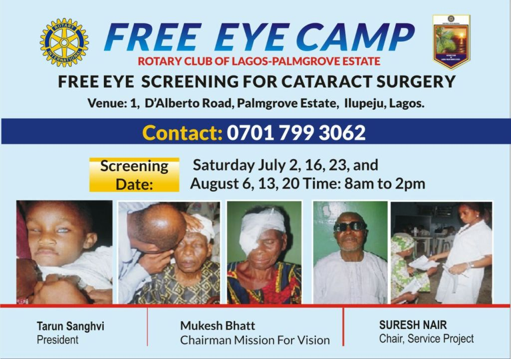Rotary Internation - Eye Camp