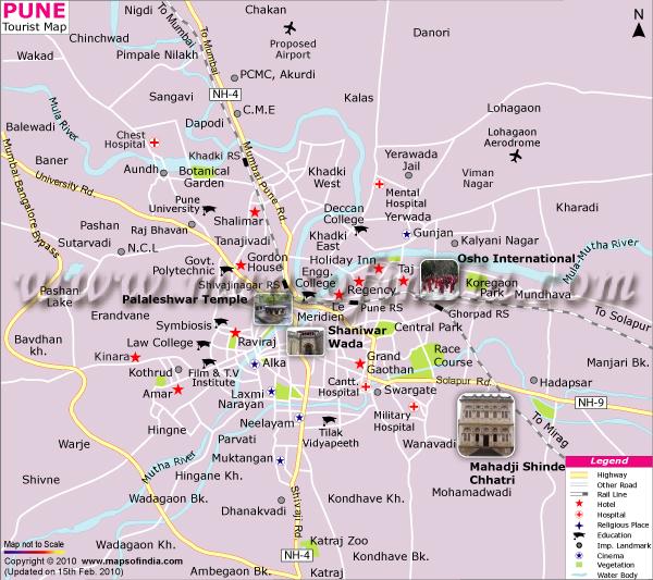 Navigation Maps India Pune Map Gps Navigation