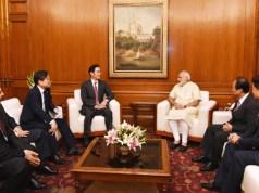 Samsung Vice-Chairman meets PM Modi