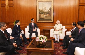 Samsung Vice-Chairman meets PM Modi
