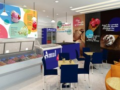 Brand Design Concept: How Amul parlours went from drab to fab