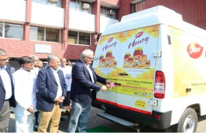 Dabur India launches first ever mobile honey-testing lab in India