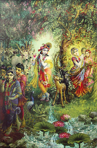 3d Wallpapers Lord Krishna Radha De Goden Indiaweb