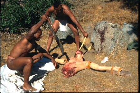girl skinned alive