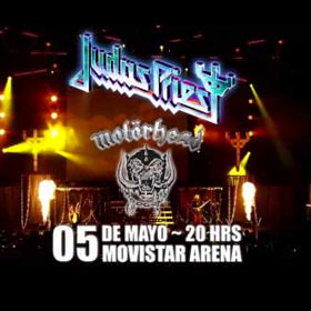 Judas Priest y Motorhead en Chile