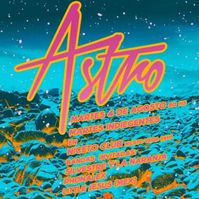 Astro en Niceto Club