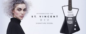 St. Vincent diseña su propio modelo de guitarra