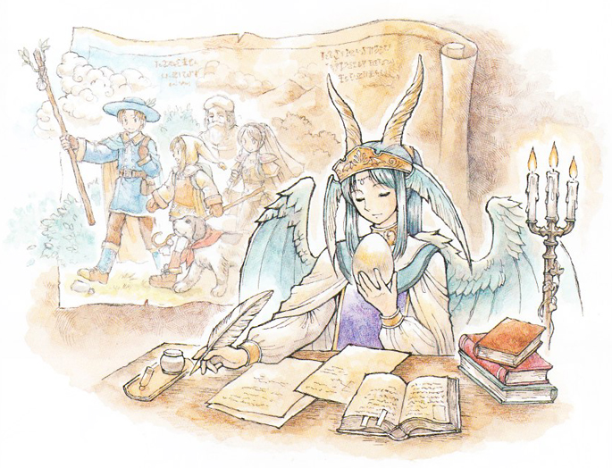 Ryuutama Natural Fantasy Roleplay LIMITED EDITION Print+PDF