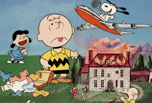 Charlie Brown Fall Wallpaper Retro Peanuts Dvd Review Bon Voyage Charlie Brown