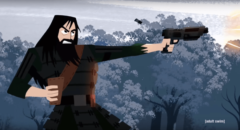 Animated Fall Wallpaper Samurai Jack Review Adult Swim Delivers New Action