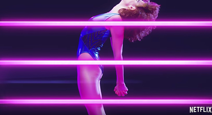 The Fall Tv Series Wallpaper Glow First Look At Alison Brie S Wrestling Series From