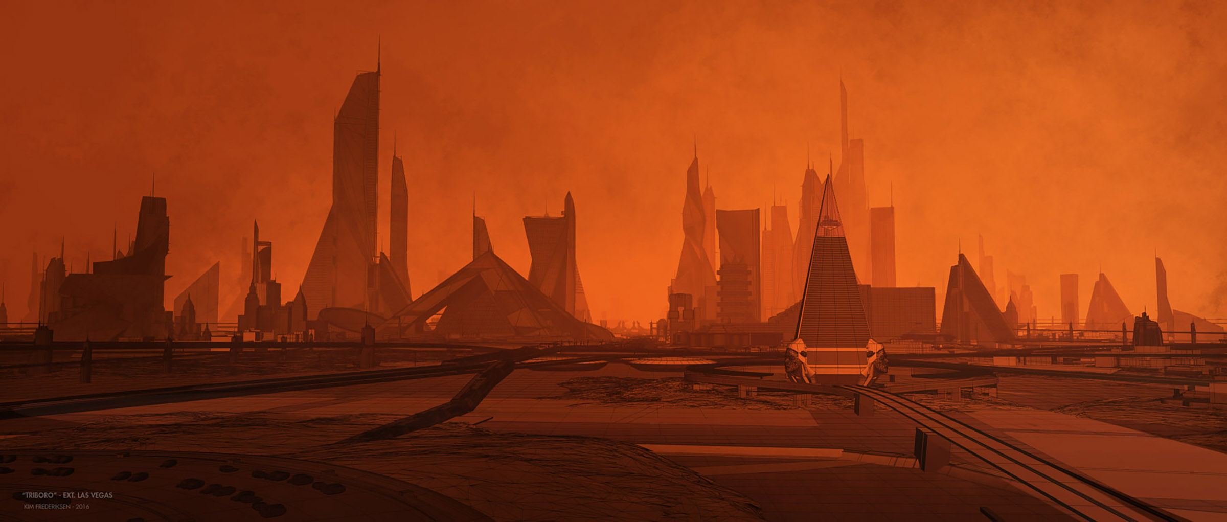 3d Wallpaper Futurist Blade Runner 2049 Designing A Brutal Beautiful