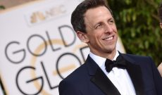 Seth Meyers To Host 2018 Golden Globes, Perhaps Paving the Way for Jimmy Fallon to Host Next Year's Emmys