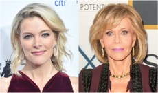 Megyn Kelly Bashes 'Not Proud of America' Jane Fonda for Criticizing Her Interviewing Skills