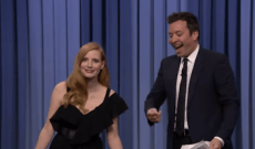 Jessica Chastain Shows Jimmy Fallon What It's Like to Be a Woman in Hollywood — Watch