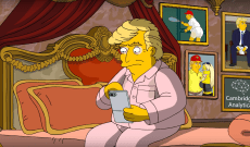 'The Simpsons' Fantasizes That Donald Trump Tells Off Putin, Gives Up Twitter, and Admits He's a 'Narcissistic Sociopath'