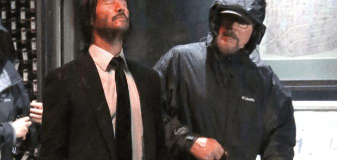 'John Wick 3': Keanu Reeves Behind the Scenes