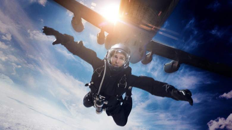 Wallpaper Scenes Of Fall Tom Cruise Performs A Halo Jump In Mission Impossible
