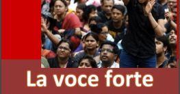 Eventi. La voce forte. Appunti per una storia dell'attivismo politico delle donne nell'India contemporanea