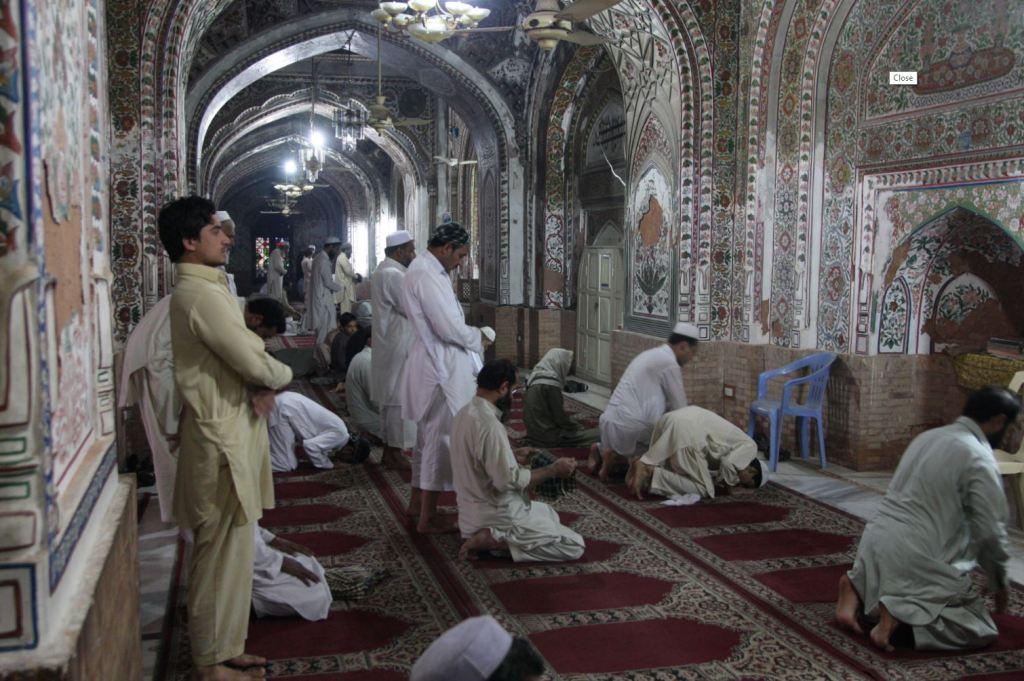 Una moschea a Peshawar.