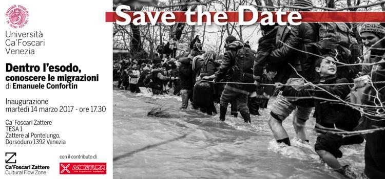 'Dentro l'esodo', fotografia e incontri sulle migrazioni a Venezia. Fino al 9 aprile.