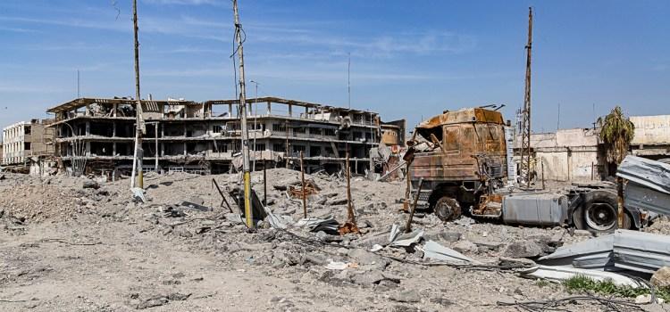 Mosul, voci da una città moribonda. Da Area.