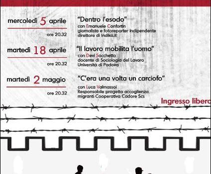 INCONTRI IN LIBERTÀ'. Dal 5 aprile, Libreria Ubik a Castelfranco Veneto.