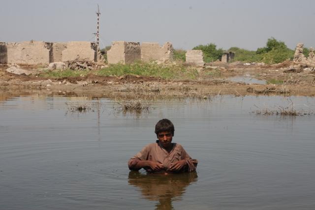 Alluvioni in Sindh, Pakistan. Foto di Emanuele Confortin (Archivio)